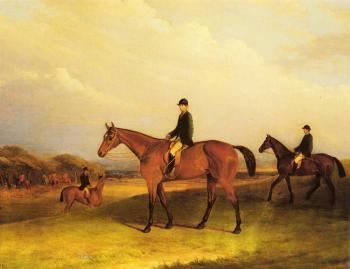 John Ferneley : A Jockey On A Chestnut Hunter